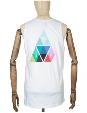 Huf Triangle Prism Tank Top - White