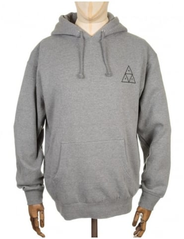 Triple Triangle Hooded Sweatshirt - Heather Grey