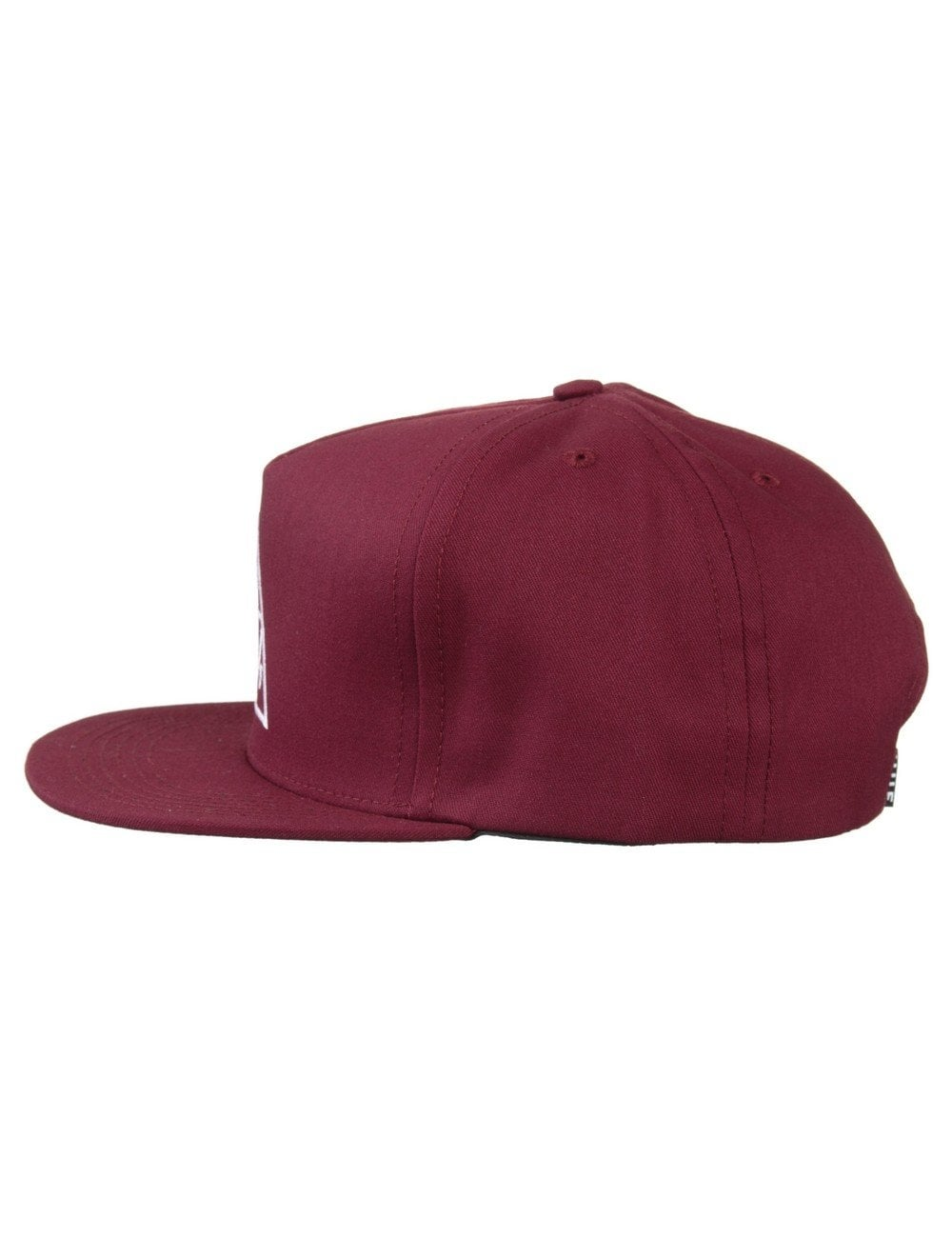 7fb84c77e69 Huf Triple Triangle Snapback Hat - Wine - Accessories from Fat ...