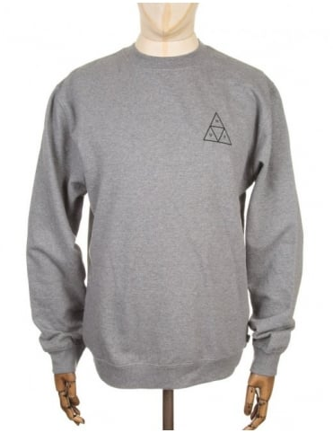 Triple Triangle Sweatshirt - Heather Grey