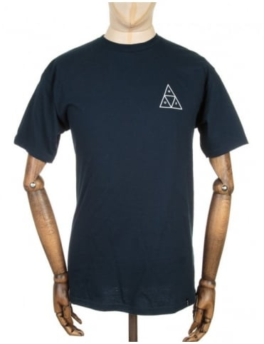 Triple Triangle T-shirt - Navy