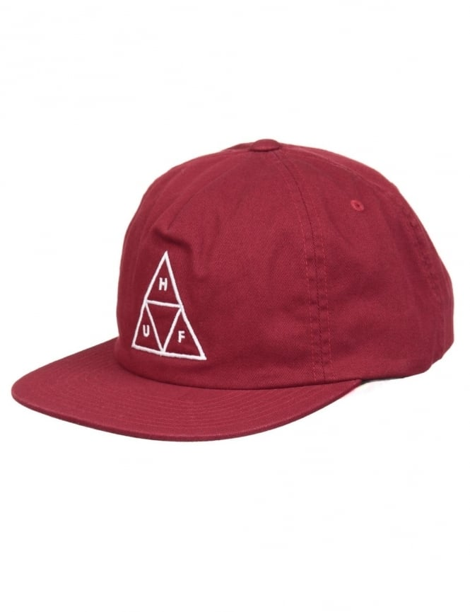 Huf Triple Triangle Volley Hat - Wine