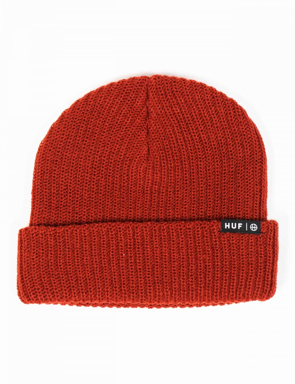 Huf Usual Beanie - Rust - Accessories from Fat Buddha Store UK 236064bcc01