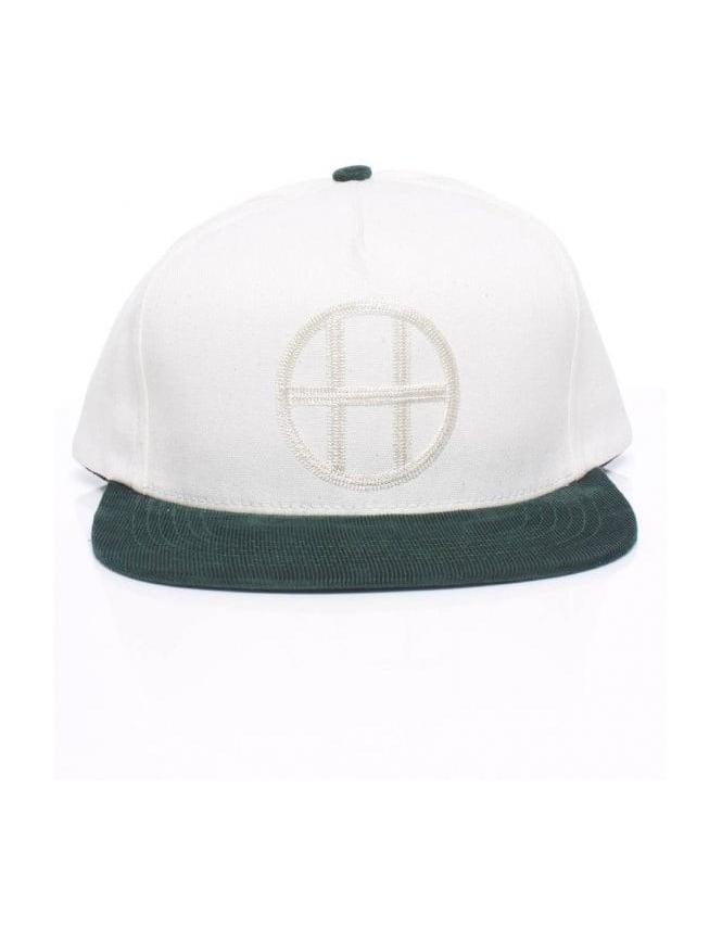 Huf Vintage Circle H Snapback - Forest