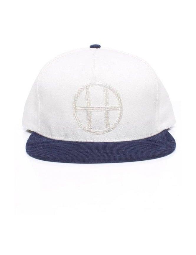 Huf Vintage Circle H Snapback - Navy
