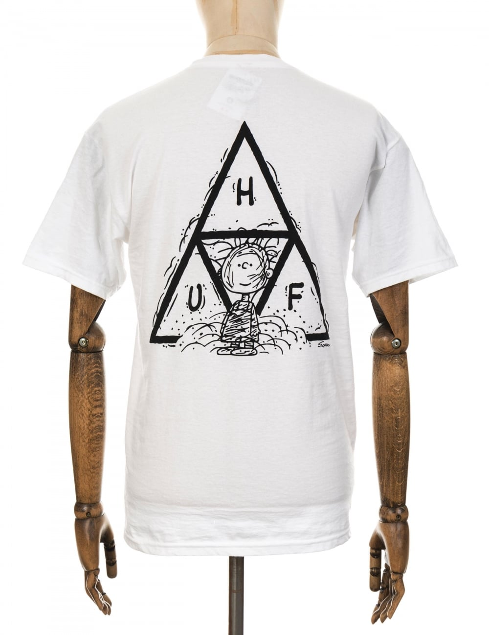 1a167781430b5e Huf x Snoopy Pigpen Triple Triangle T-shirt - White - Clothing from ...