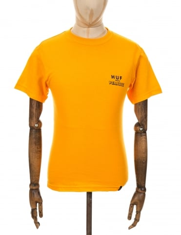 Huf x Snoopy Spike Classic H T-Shirt - Gold
