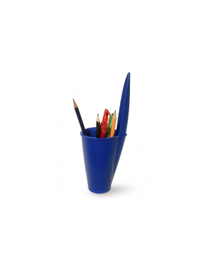 J-Me Gifts Blue Lid Pen Pot