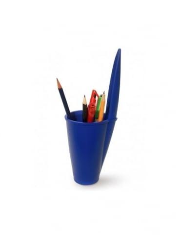 J-Me Gifts Blue Lid Pen Pot