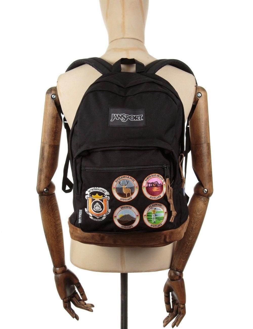 0fec168e3277 Jansport Heritage X Fat Buddha Store Rightpack Backpack - Black ...