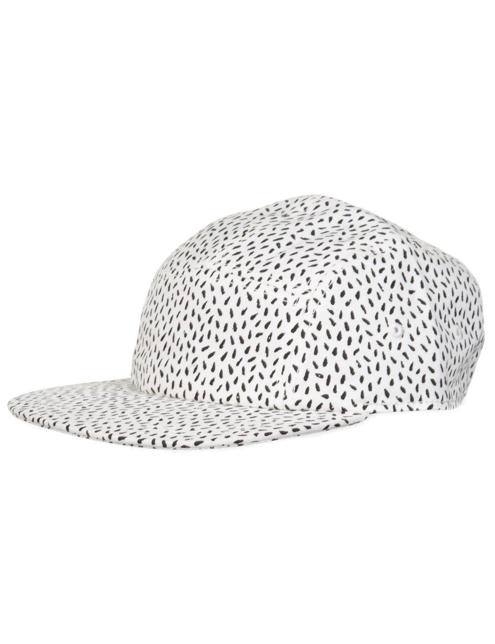 bb0b3adfc1f Lacoste Live 5 Panel Hat - Flour Black - Accessories from Fat Buddha ...