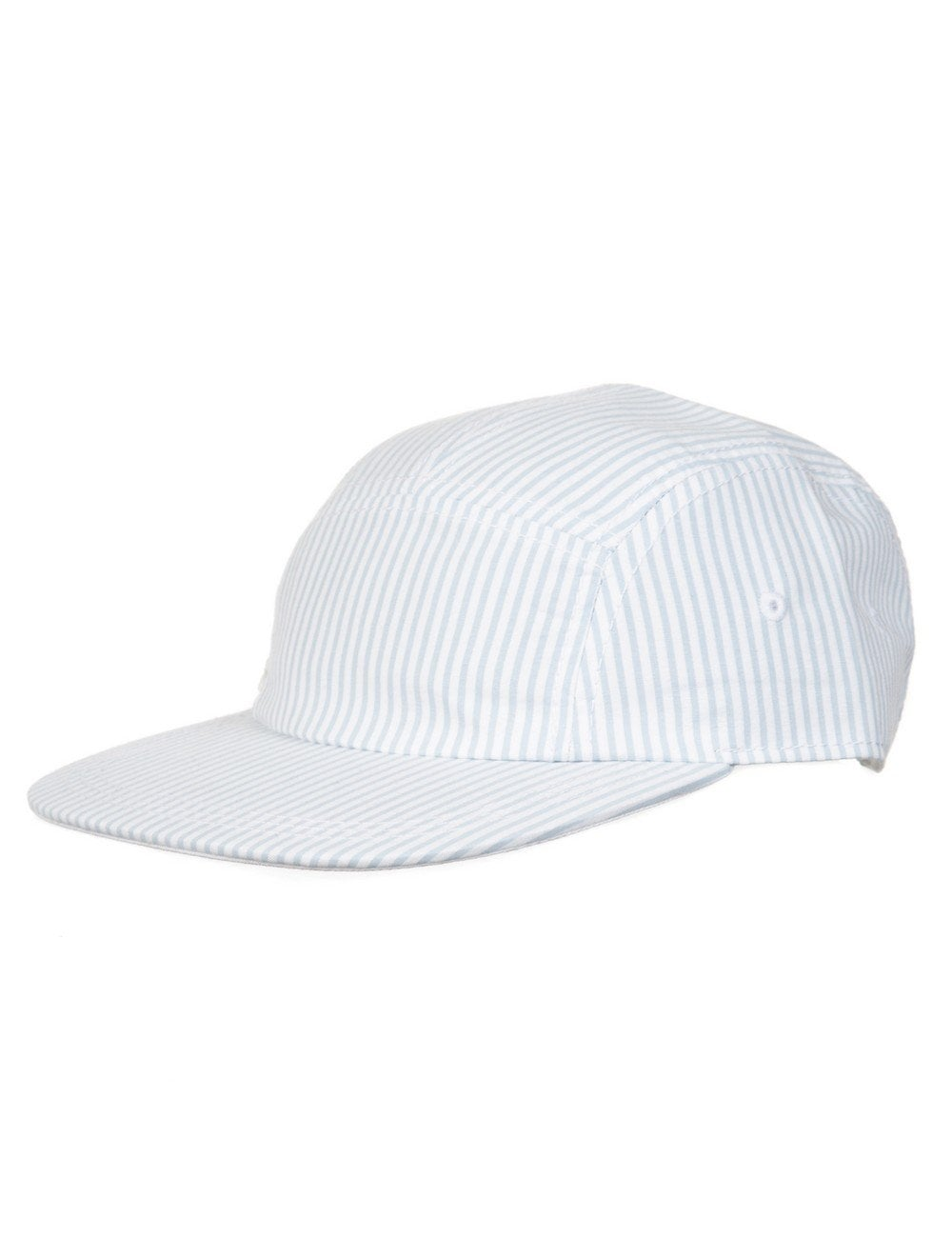 4a09a0026f9 Lacoste Live 5 Panel Hat - Pin White - Accessories from Fat Buddha ...