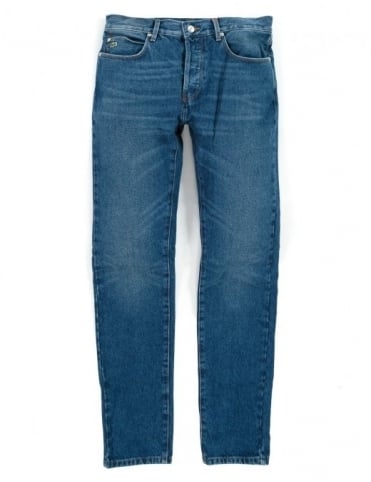 5 Pocket Denim - Indigo Medium Distressed