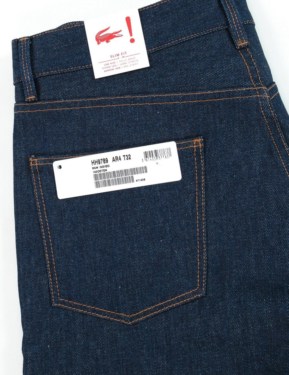 bbd0ef0f 5 Pocket Denim - Raw Indigo