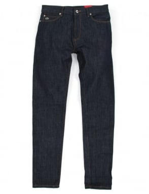 Lacoste Live 5 Pocket Denims - Blue Raw