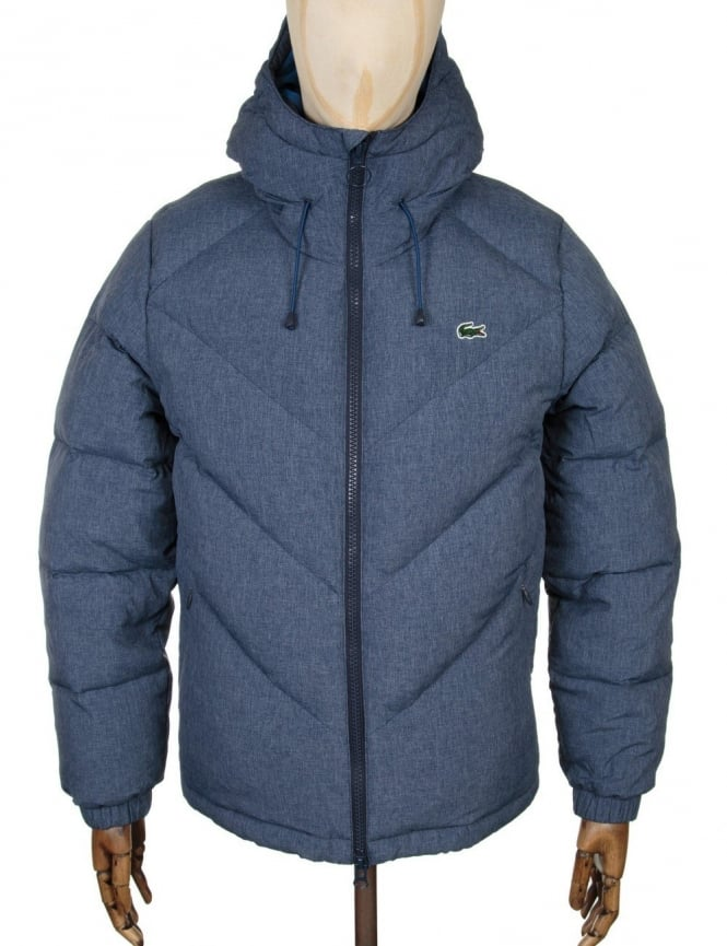 Lacoste Live Down Padded Jacket - Midnight Blue