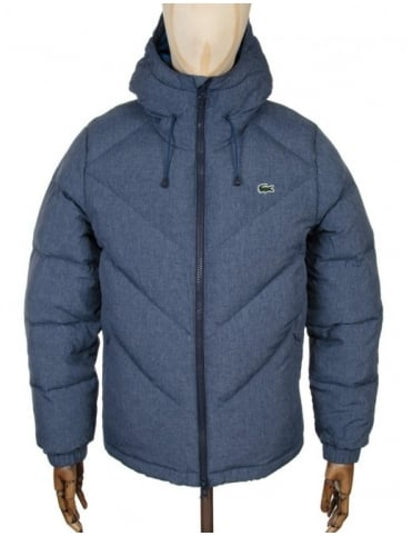 Down Padded Jacket - Midnight Blue