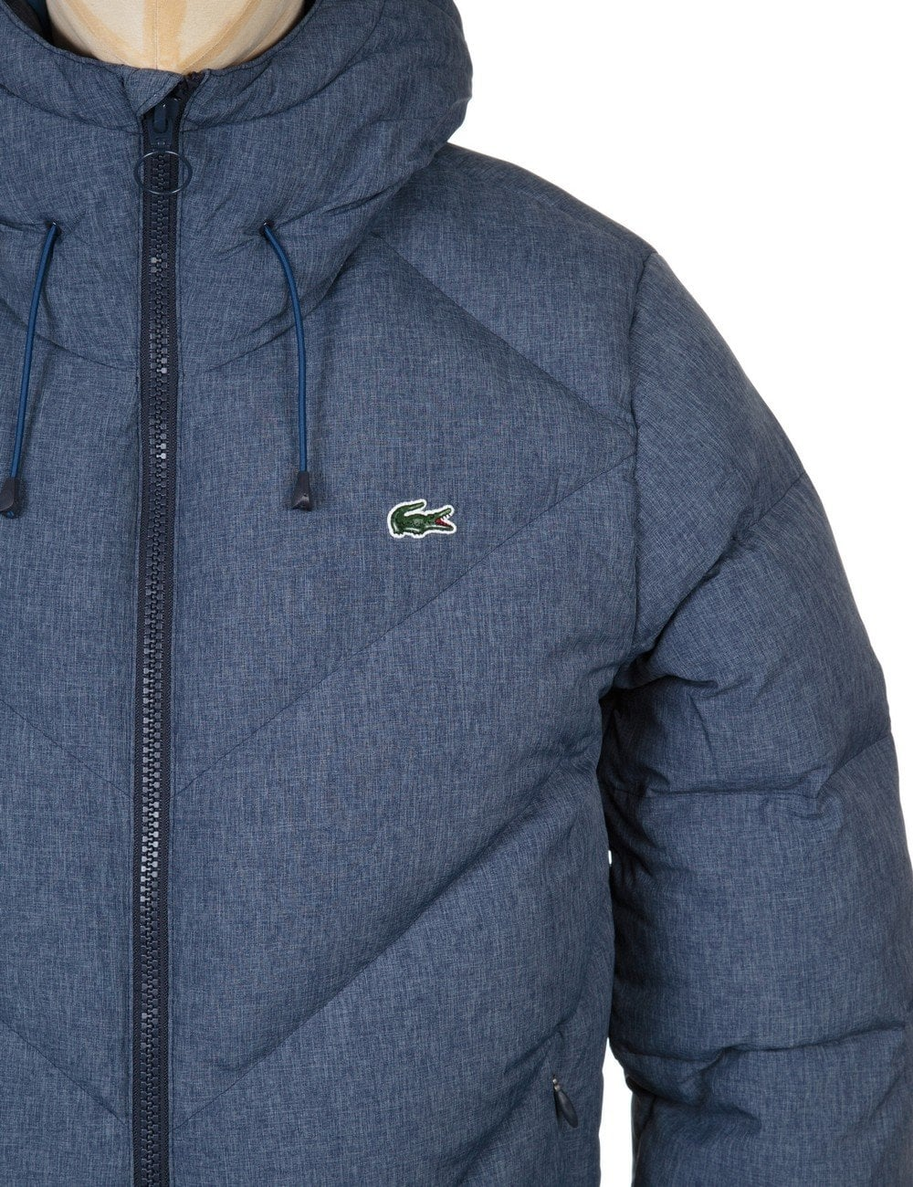 lacoste live down padded jacket midnight blue lacoste live from fat buddha store uk. Black Bedroom Furniture Sets. Home Design Ideas