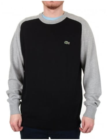 Lacoste Live Jewel Sweater - Black/Silver