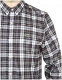 Lacoste Live L/S Skinny Fit Check Shirt - Catamaran