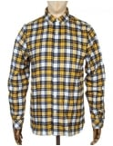 Lacoste Live L/S Skinny Fit Check Shirt - Toucan Yellow