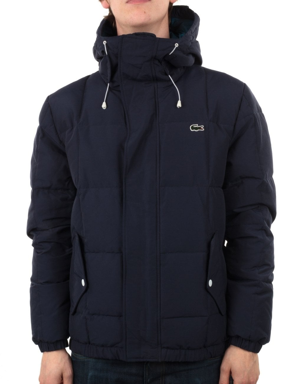 lacoste live quilted jacket navy clothing from fat buddha store uk. Black Bedroom Furniture Sets. Home Design Ideas