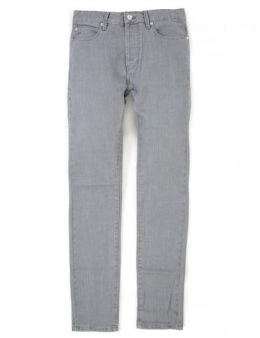 Lacoste Live Slim Fit Denim - Washed Down Grey