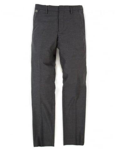 Lacoste Live Slim Fit Trousers - China Stone Grey Marl