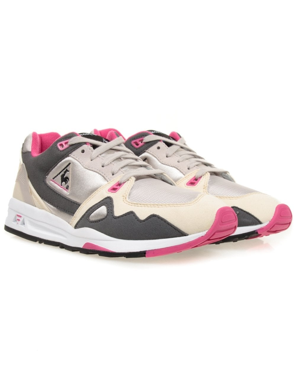 wholesale dealer 08cb0 7949f Le Coq Sportif R1000 Shoe - Silver Grey (Day   Night Pack)