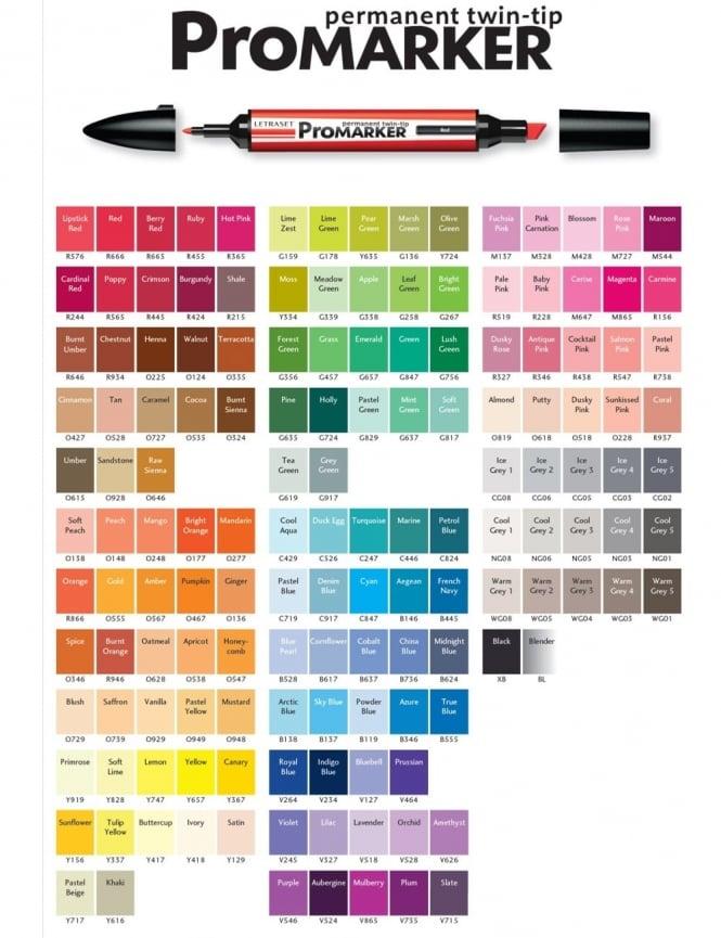 Letraset ProMarker Pen - Ivory