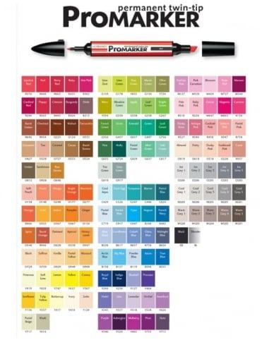 Letraset ProMarker Pen - Petrol Blue