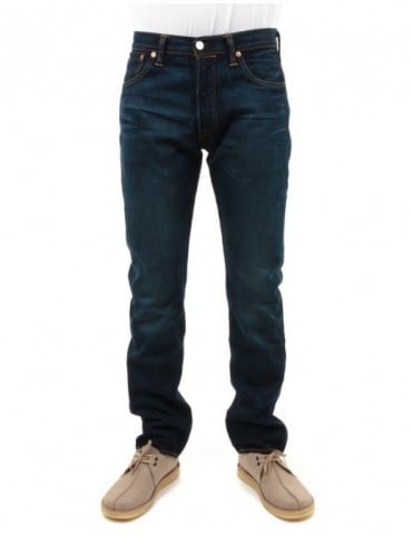 Levi's 501 Original Fit Bison - Blue Selvage