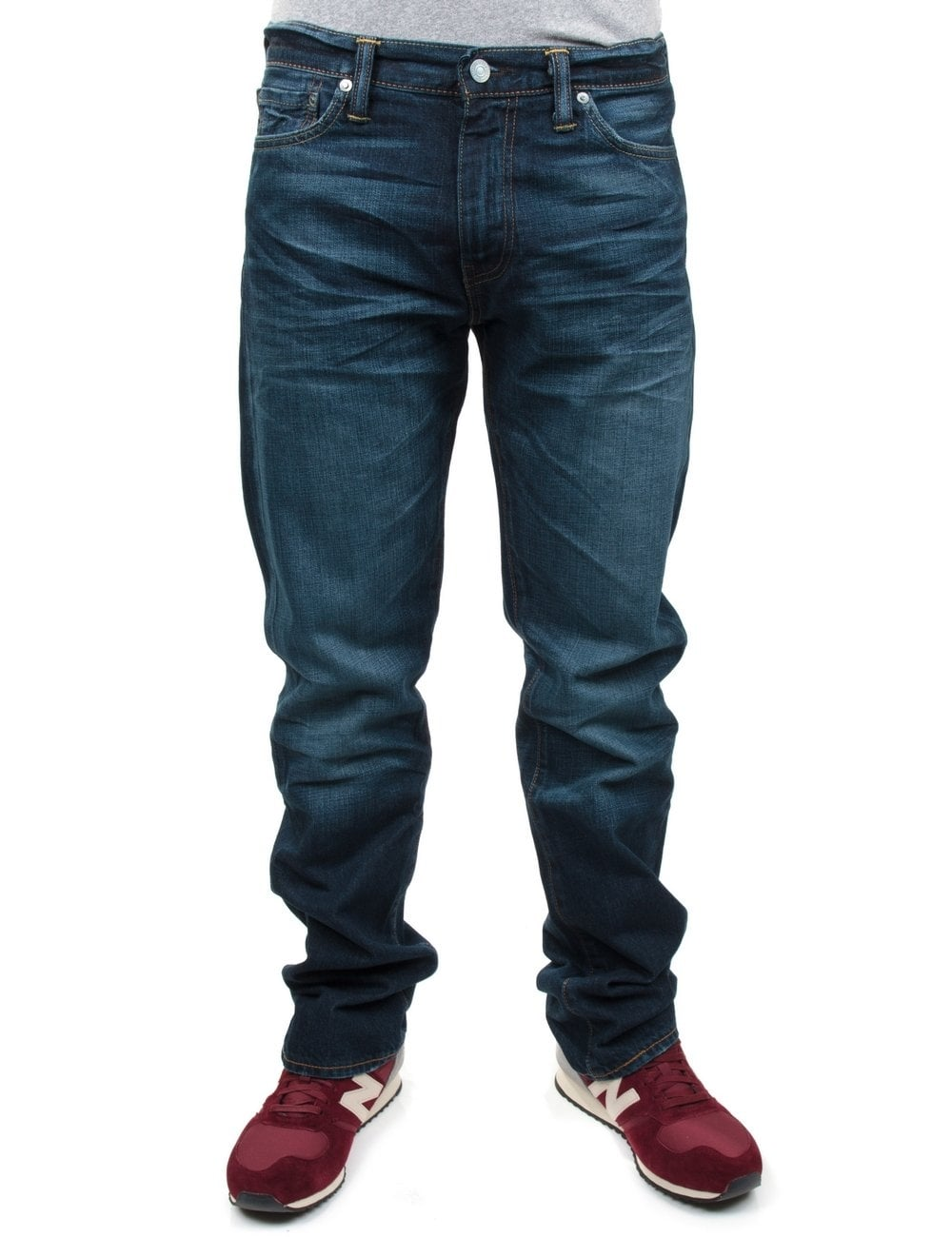 504 Moon Fit Levi's Regular From Blue Clothing Straight Fat pdXq4x4wF