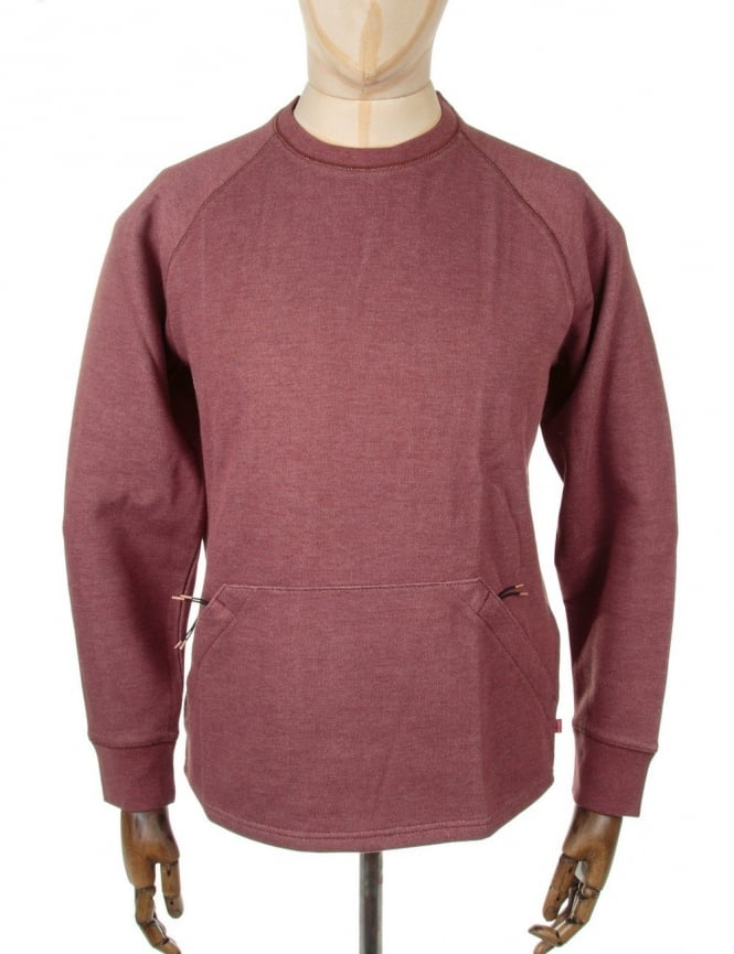 Levi's Commuter Crewneck Sweatshirt - Sweet Apple