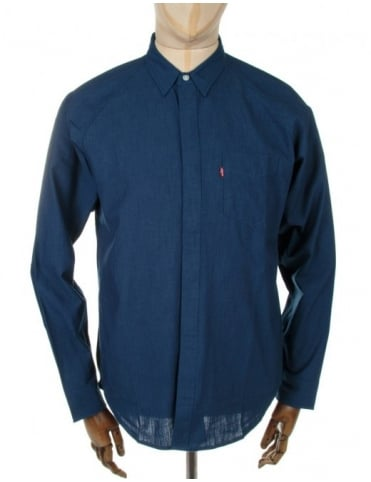 Levi's Commuter Raglan Shirt - Blue