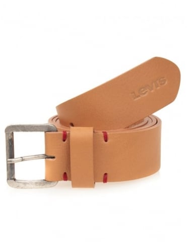 Leather Belt - Light Brown