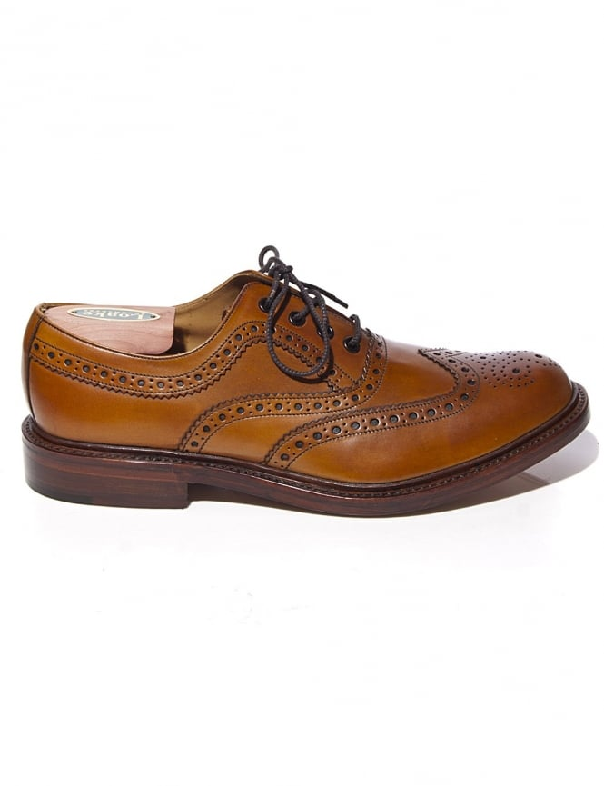 Loake Ashby - Tan Burnished