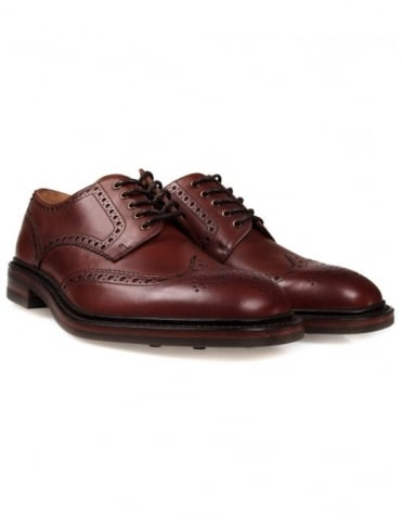 Loake Chester Shoes - Mahogany (Rubber Sole)