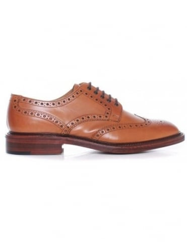 Loake Chester Shoes - Tan Burnished