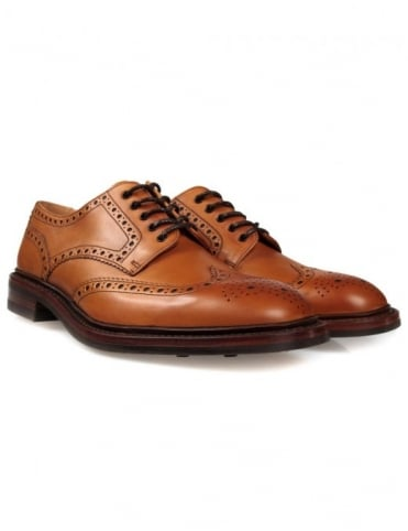 Loake Chester Shoes - Tan (Rubber Sole