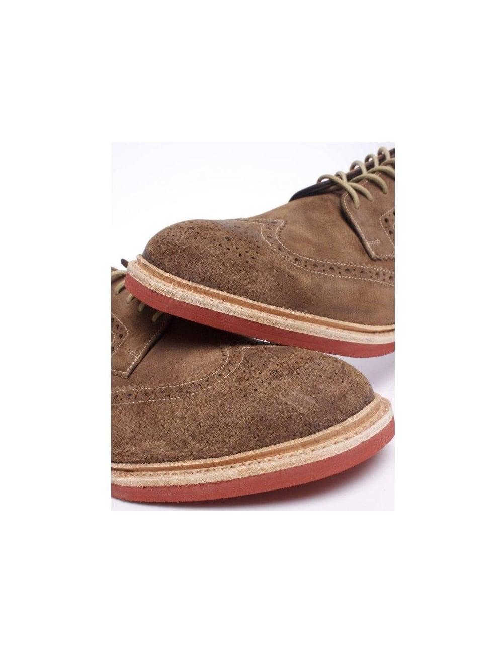 home footwear shoes boots loake loake logan brown. Black Bedroom Furniture Sets. Home Design Ideas