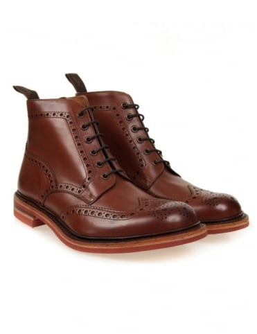 Loake Wharfdale Boots - Brown