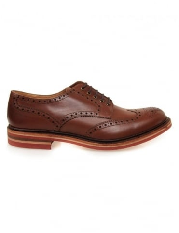 Loake Worton Shoes - Brown