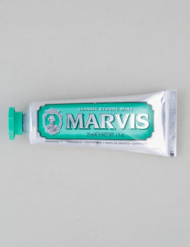 Marvis Classic Strong Mint - Travel Toothpaste (25ml)