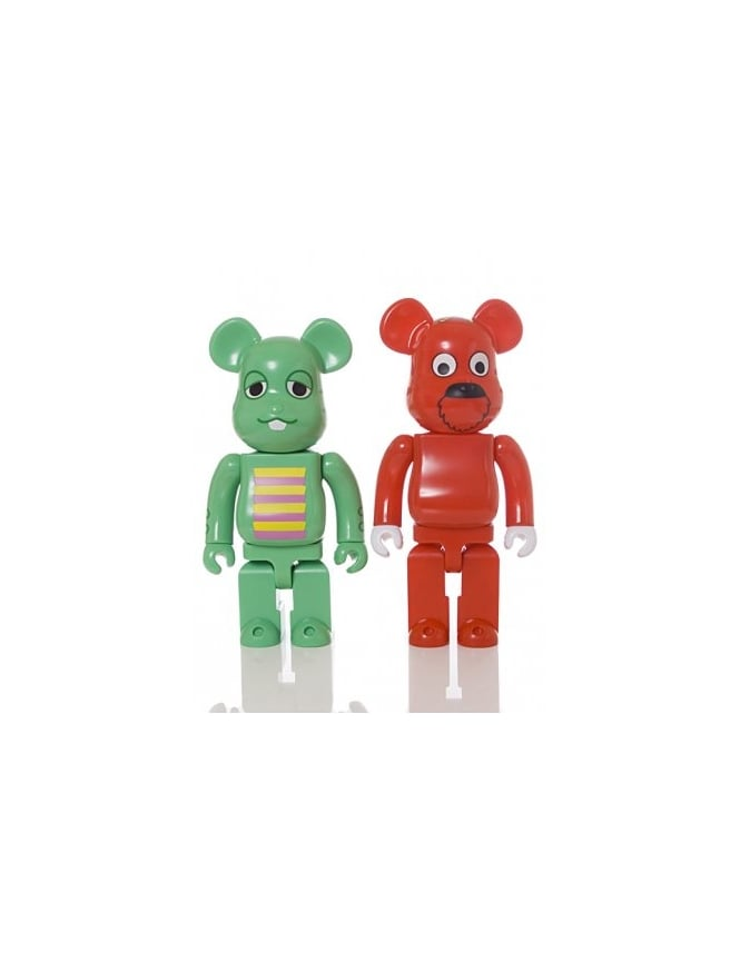 Medicom Gachapin 400% Bearbricks - Double Set