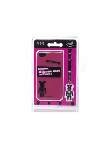 iPhone 4 Case - Black/Pink