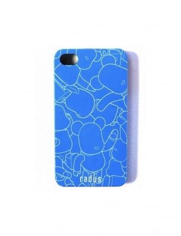 Medicom iPhone 4 Case - Blue