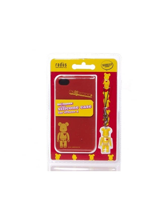 Medicom iPhone 4 Case - Yellow/Red