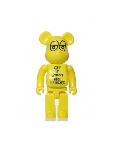 Medicom Krooked Skateboards 400% Bearbrick