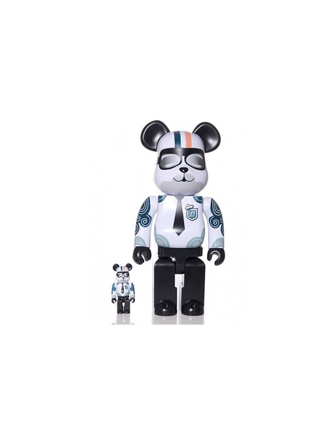 Medicom Paul & Joe 400% & 100% Bearbrick